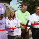 Ribbon Cutting for downtown Wireless