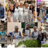 Our 2014 summer interns spent time volunteering at Greater the Chicago Food Depository.