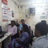 ICICI Bank Ltd photo: Branch team attended webcast