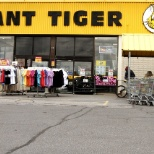 Front of Giant Tiger.