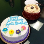 The L&R Employees in Brooklyn are celebrating their co-workers who have a birthday in April!