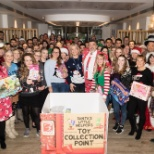Christmas charity collection