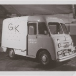 Our route delivery trucks have sure changed over the years... This truck dates to the mid-1950s!