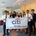 Citi photo: Cheers to our Citi Malaysia Analysts! #LifeatCiti