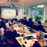 Meeting der Vodafone Jobacademy