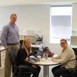photo of Stryker, Work meetings can be fun meetings...with tiaras!