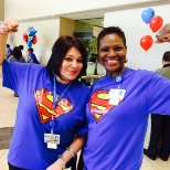 Methodist Health System photo: Two Methodist recruiters met health care heroes at the Methodist Dallas Career Fair!