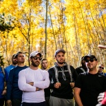 Hiking Vail Mountain got everyone outside their comfort zone and working as one team