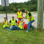 Rovi Corporation photo: Volunteer Roadside Cleanup