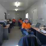 Office in Stanwell Power Plant, Mount Isa, Australia.