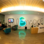 The reception area at our fancy new NW Austin offices