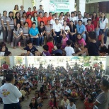 Department Of Health photo: Photo taken during our deworming @ Cabulalaan Elemtary School. I am wearing red shirt.