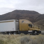 CRST Expedited photo: Me and my Truck Vegas
