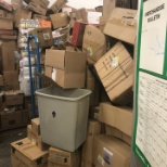 store #6592 Stock room is always like this.