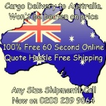 Cargo Force Inc photo: Shipping to Australia
