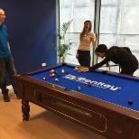 Things can get competitive at the Dublin office, but all in good sport!