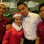 Pizza Hut photo: #tbt lady santa christmas season