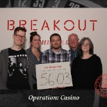 Geriatric Practice Management (GPM) photo: Team outing at the Breakout in downtown Asheville.  This team won third place!