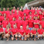 Our 2013 Company Outing at Six Flags New England, group photo