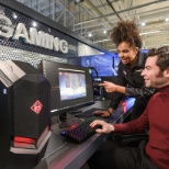 Dixons Carphone photo: Gaming zone in Currys PC World
