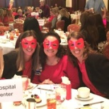 Go Red for Women event at Los Robles