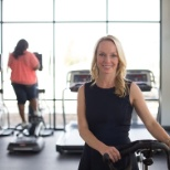 CEO Alaina Macia in our Lake St. Louis fitness center
