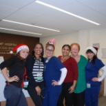 Christmas at work with the team