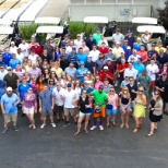 Spring Venture Group photo: Our yearly company golf tournament gives employees an opportunity to have fun outside the office.