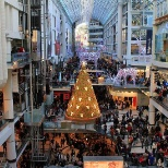Eaton Center at Christmas time