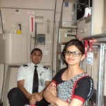 photo of Air India, Flight cabin