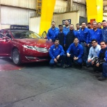 Die makers Team at Ford Hermosillo