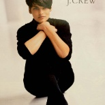 J. Crew Group, Inc. photo: A young Linda Evangelista