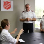 The Salvation Army photo: any time makes an office