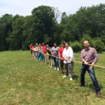 MHA of Westchester photo: The staff enjoying a relaxing day of fun and games at the Agency Picnic on June 12, 2015.