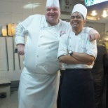 With Executive Chef Meik
