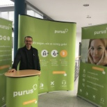 purus AG photo: Unser Messestand