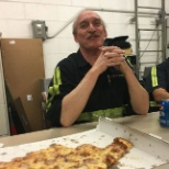 Technician, Thomas Mullally, celebrating 45 years with the First Student.