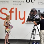 News coverage of the grand opening of Shutterfly's Fort Mill, South Carolina facility.