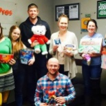 FreightPros team members donated Christmas gifts to families in need.