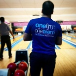 KPMG photo: Bowling outing.