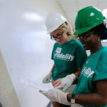Fidelity Cares School Transformation Day events are the largest collective employee effort.