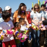 Bay Area Shutterfly employees give back to the community at a KaBoom! playground build.