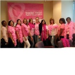 Symetra's Miami office celebrates Pink Day in support of Making Strides Against Breast Cancer