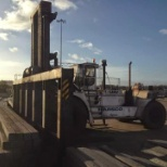 Tata Steel photo: 60 tonne fork truck