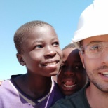 Jorge Castrillo travels to Zambia with Habitat for Humanity to build homes for families in need