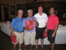 Winning foursome - Ferguson HVAC Golf Tournament