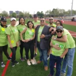 Volunteer at Special  Olympics