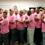 Production Dept supporting Breast Cancer Awareness