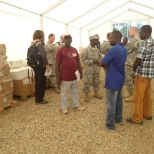 Visitation of WFP Mobile Storage Unit (MSU) Voinjama