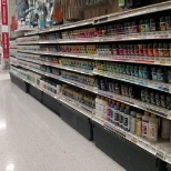 Michaels photo: Paint aisle!